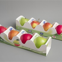apples - cardboard tray